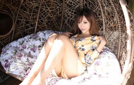王馨瑶yanni 吊椅 4K超高清壁纸精选
