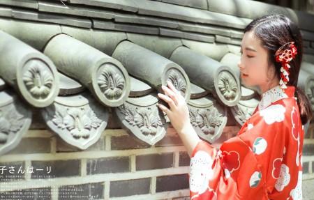 和服美女摄影4K超高清壁纸精选