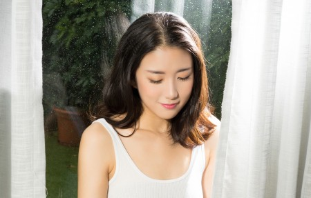 养眼美女宁宁3840x2160桌面高端电脑桌面壁纸