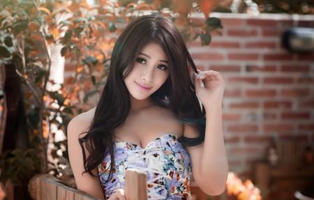 亚洲女孩美女高清4K桌面高端电脑桌面壁纸