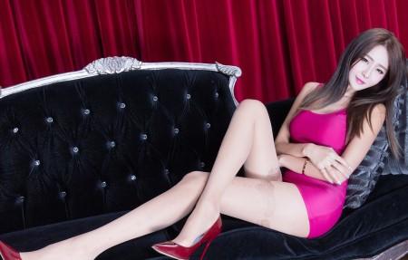 台湾美女腿模winnie性感美腿写真4K超高清壁纸精选