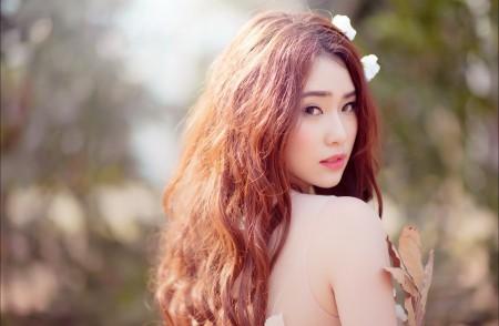 长发美女侧脸摄影4K超高清壁纸精选