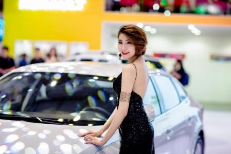 车展 时尚 模特 车模 5K美女超高清壁纸精选
