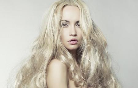 金发 长头发 4K美女超高清壁纸精选