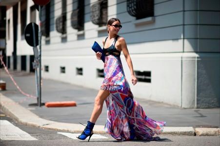 米兰时装周4K美女图片