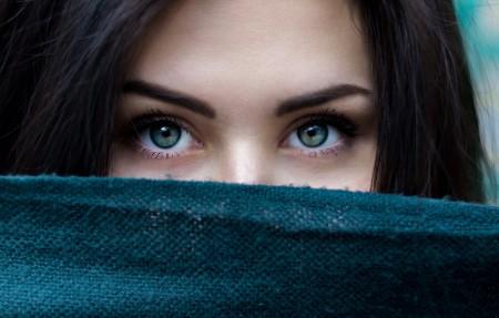 美丽的眼睛 布 5K美女图片超高清壁纸精选