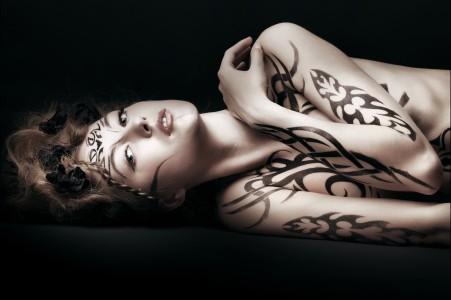 人体艺术 身体艺术 美女 绘画 5k图片高端电脑桌面壁纸