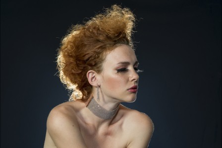 艺术头发 性感年轻美丽美女6K图片