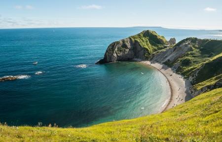 Dorset Durdle Door 海岸风景3440x1440超高清壁纸精选