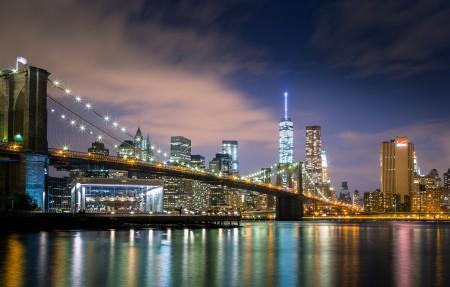 纽约金融区和华尔街4k风景超高清壁纸精选