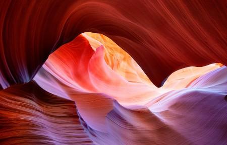 羚羊峡谷3440x1440高清风景高端电脑桌面壁纸