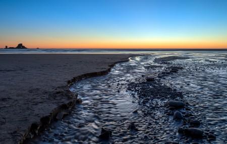 俄勒冈的印度海滩4k风景高端电脑桌面壁纸