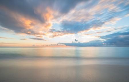 迈阿密的寂静的海滩4096x2160风景超高清壁纸推荐