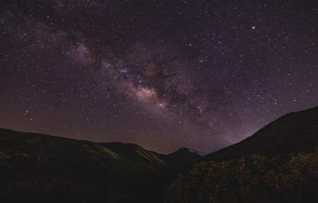 星空夜晚银河4k高端电脑桌面壁纸