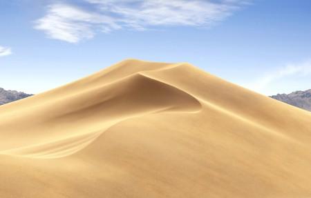 苹果MacOS Mojave 莫哈韦沙漠 白天风景4k高端电脑桌面壁纸3840x2160