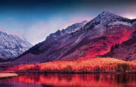 内华达山脉Sierra Nevada 4k风景高端电脑桌面壁纸