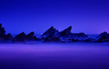 寒冷蓝3440x1440风景高端电脑桌面壁纸
