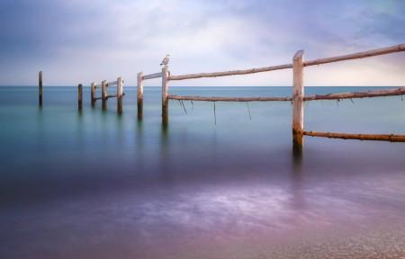 波罗海滩风景3440x1440带鱼屏高端电脑桌面壁纸