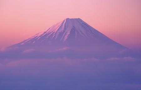 富士山风景5K高端电脑桌面壁纸
