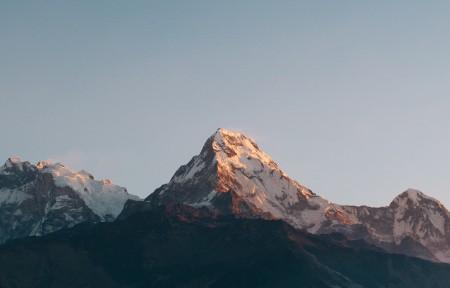 山峰高山风景3440x1440高端电脑桌面壁纸
