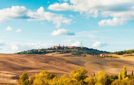 美丽的意大利托斯卡纳4k风景高端电脑桌面壁纸