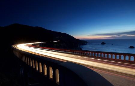 比克斯比大桥4k风景高端电脑桌面壁纸
