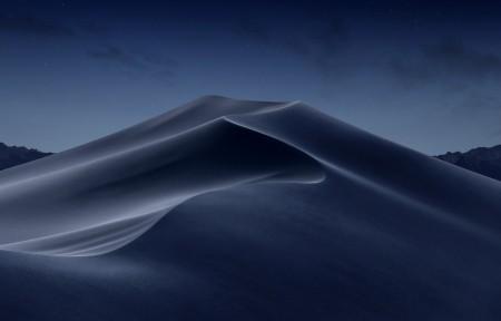苹果系统 莫哈韦沙漠 夜晚 5k风景超高清壁纸精选5120x2880