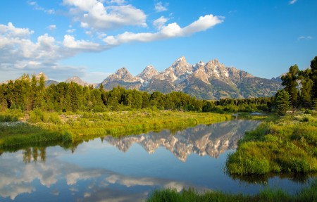 美国怀俄明州 山水风景4K高清高端电脑桌面壁纸3840x2160
