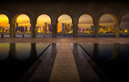 伊斯兰艺术博物馆4K风景高端电脑桌面壁纸