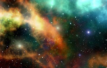 宇宙星系星空3440x1440高清高端电脑桌面壁纸