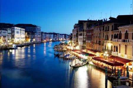 威尼斯大运河风景4K高清高端电脑桌面壁纸