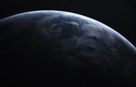 月球星空3440x1440超高清壁纸精选