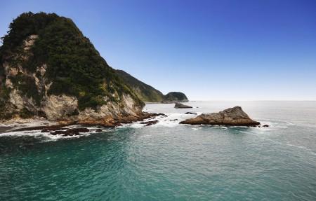 新西兰海岸线3840x2160风景超高清壁纸精选