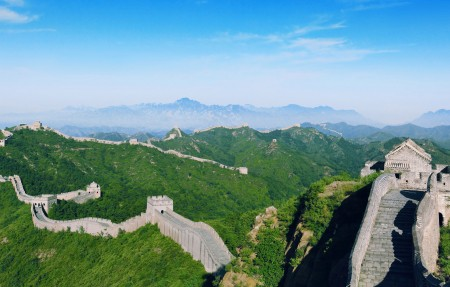 中国北京长城风光4K高清高端电脑桌面壁纸