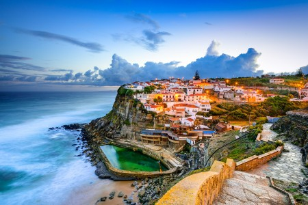 葡萄牙辛特拉小镇海边风景6K高端电脑桌面壁纸