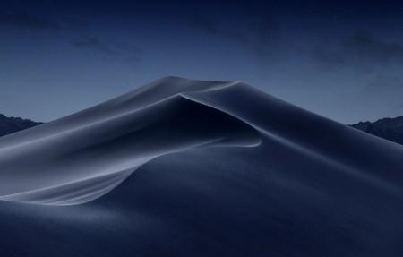 苹果macOS Mojave 莫哈韦沙漠 夜晚 4k风景高端电脑桌面壁纸3840x2160