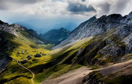 瑞士皮拉图斯山3440x1440风景超高清壁纸精选