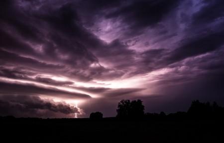 神奇的大自然风景,天空,云,闪电,光,3840x2160风景高端电脑桌面壁纸