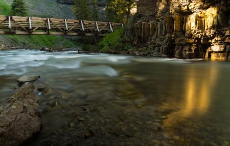 蒙大拿河Montana River风景4K高端电脑桌面壁纸