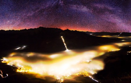 银河系全景高清4K高端电脑桌面壁纸