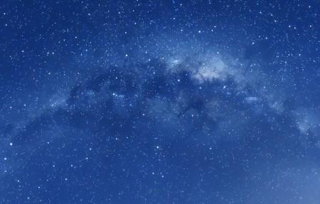 银河系星空3440x1440超高清壁纸推荐