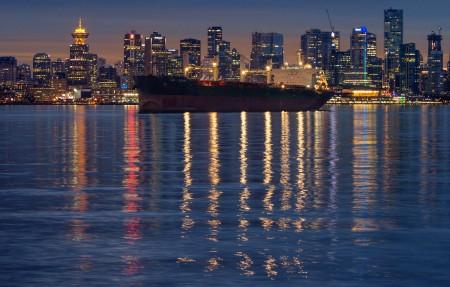 温哥华市中心3840x2160风景超高清壁纸精选