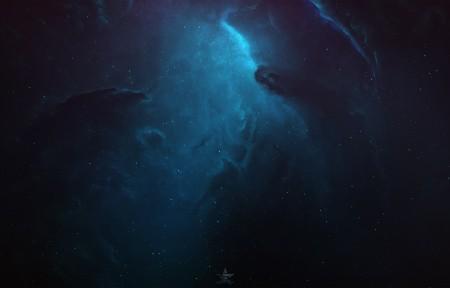 黑夜星空5K高端电脑桌面壁纸5120x2880