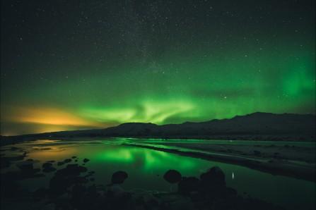 美丽的极光 星空风景6K高端电脑桌面壁纸