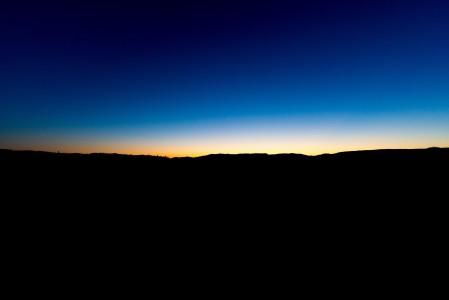 地平线,天空,晚上风景5k高端电脑桌面壁纸