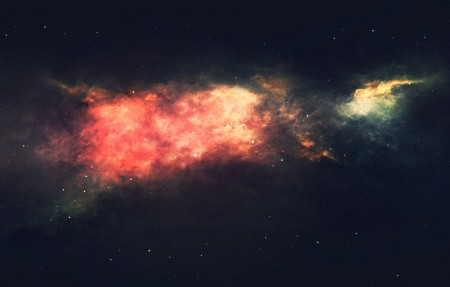 星际星空风景4K高清高端电脑桌面壁纸