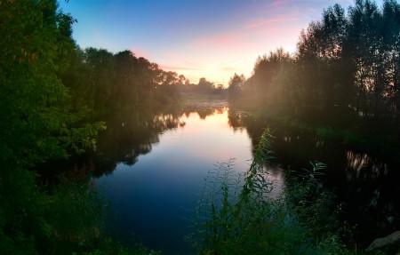 丛林美丽的河流4K风景高端电脑桌面壁纸