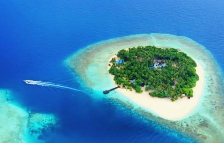 海洋岛屿风景5K高端电脑桌面壁纸