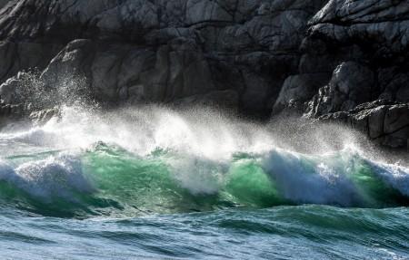 加利福尼亚州太平洋的一个地方4K风景高端电脑桌面壁纸
