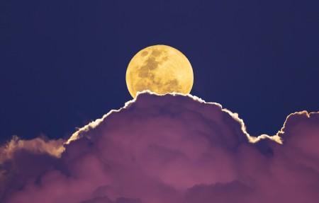 超级月亮4K高清壁纸超高清图片下载3840x2160